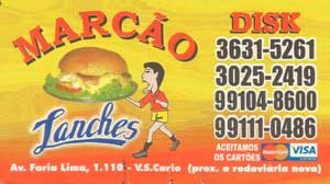 Marcao-Lanches